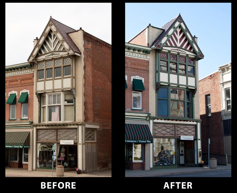 restoration of historic buildings